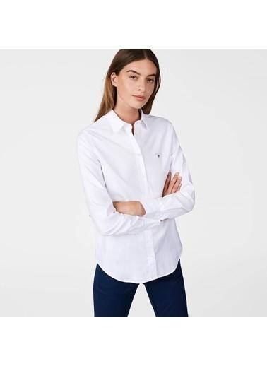 Gant Uzun Kollu Gömlek Beyaz